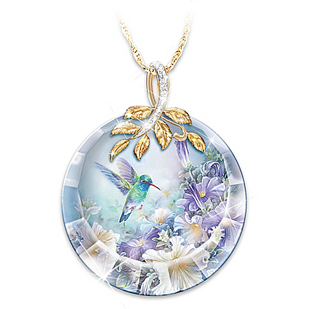 Lena Liu Nature's Tiny Miracle Women's Pendant Necklace
