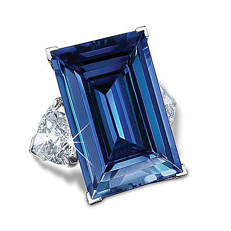 The American Dream Diamonesk Sterling Silver Ring