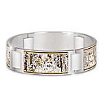 Spirit Of The Wild Native American-Inspired Women's Stainless Steel Bracelet
