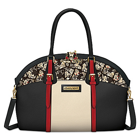 Disney Caught In The Moment Mickey Mouse And Minnie Mouse Handbag