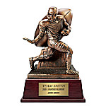Fantasy Football Cold-Cast Bronze Trophy Personalized Sculpture
