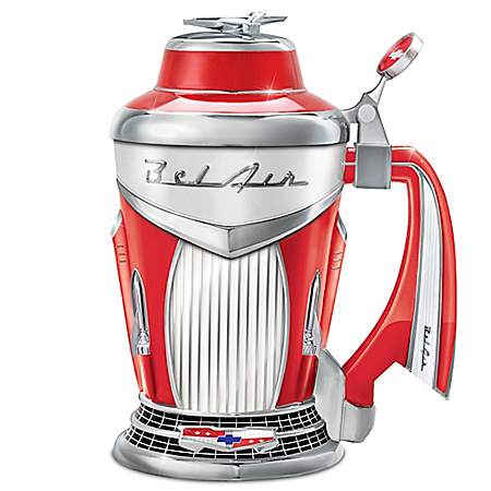 Chevy Bel Air Porcelain Stein