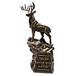 Noble Spirit Cold-Cast Bronze Deer Sculpture