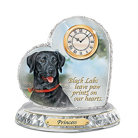 Black Lab Clocks Black Lab Wall And Desk Clocks At