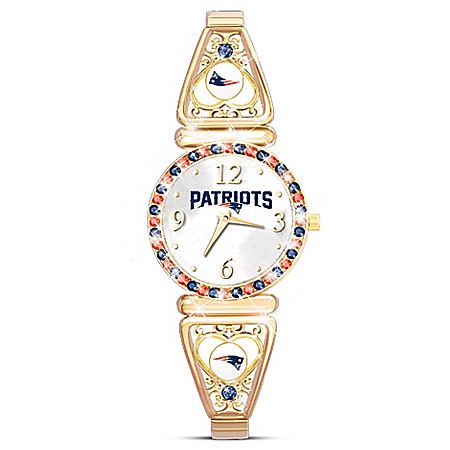 My Patriots - Officially Licensed New England Patriots Women's Watch