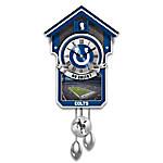 NFL-Licensed Indianapolis Colts Football Wall Cuckoo Clock