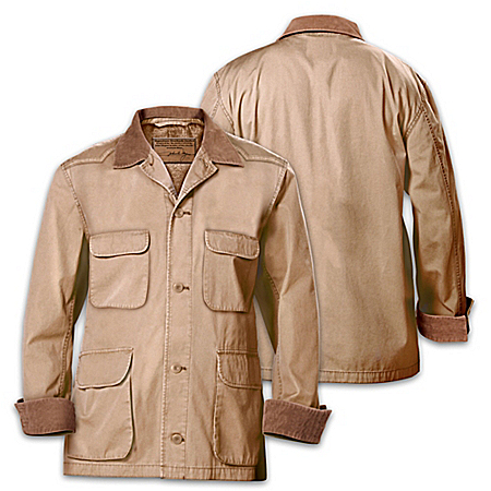 Signature John Wayne Western-Style Stockade Men's Jacket