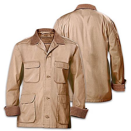 Signature John Wayne Western-Style Stockade Men's Jacket