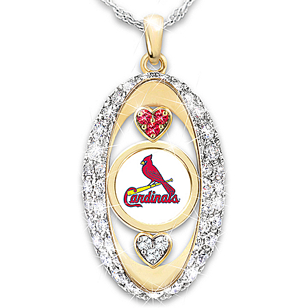 For The Love Of The Game St. Louis Cardinals Pendant Necklace
