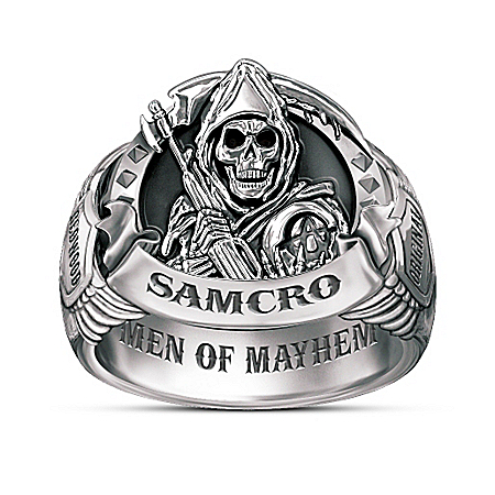 Sons Of Anarchy Men Of Mayhem Ring