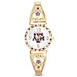 My Aggie Texas A&M Football Fans Women's Watch
