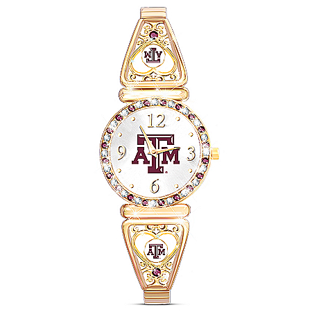 My Aggie Texas A & M Football Fans Women's Watch