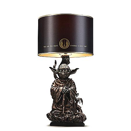 STAR WARS Jedi Master Yoda Illuminated Desk Lamp