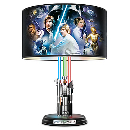 Star Wars Original Trilogy Skywalker's Lightsaber Legacy Table Lamp