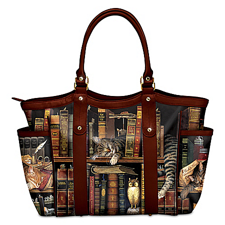 Charles Wysocki Classic Cat Tails Women's Tote Bag