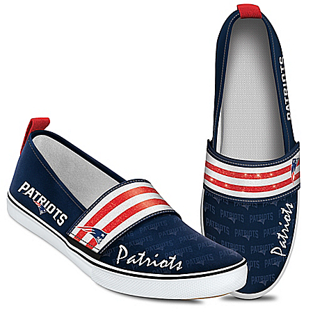 Steppin' Out With Pride NFL New England Patriots Women's Shoes