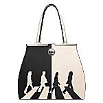 The Beatles Abbey Road Black And White Handbag