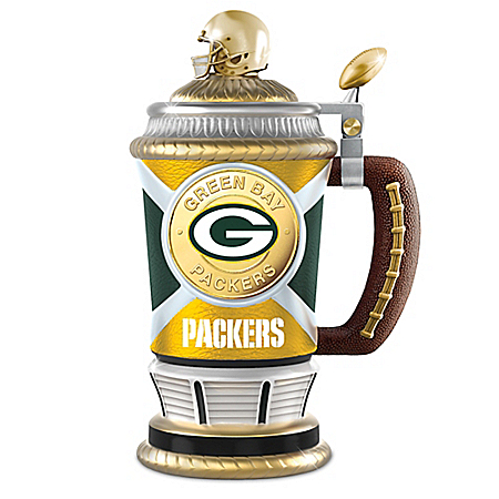 Green Bay Packers Porcelain Collector's Stein