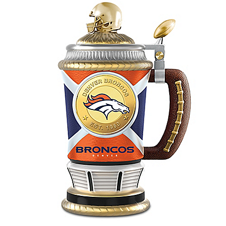 Denver Broncos Collector's Football Stein