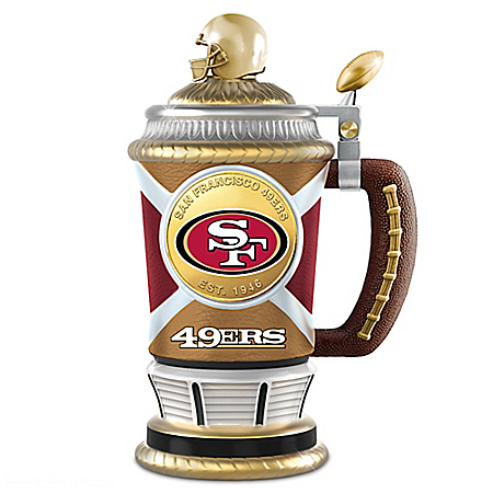 San Francisco 49ers Collector's Football Stein
