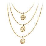 Heartfelt Blessings Women's Faith, Hope And Love Diamond Pendant Necklace