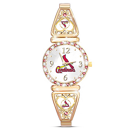 My St. Louis Cardinals Ultimate Fan Women's Watch
