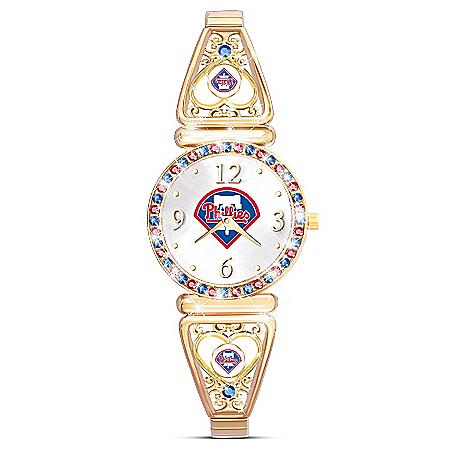 My Philadelphia Phillies Ultimate Fan Women's Watch