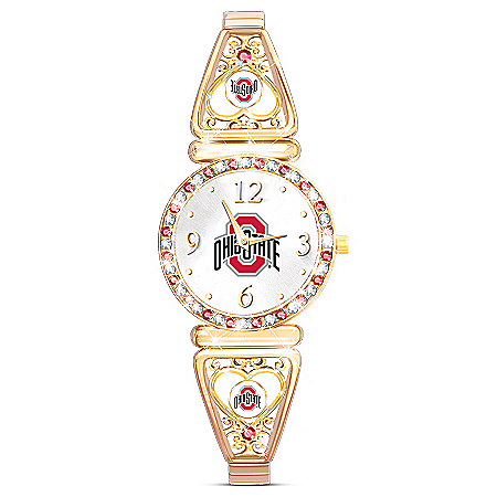 My Buckeyes Ohio State Football Fans Women's Watch