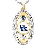 For The Love Of The Game University Of Kentucky Wildcats Pendant Necklace