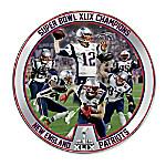 Super Bowl XLIX Champions New England Patriots Collector Plate