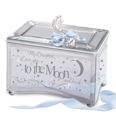 Bradford Exchange My Daughter, I Love You To The Moon Personalized Mirrored
