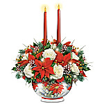 Always In Bloom Bright Holiday Lights Illuminated Table Centerpiece
