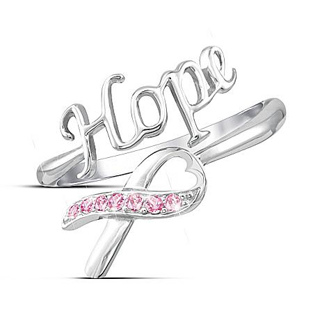Remember Hope Breast Cancer Awareness Ring