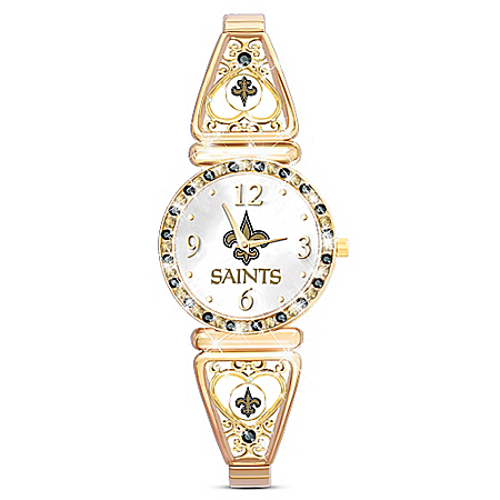 My New Orleans Saints NFL Women's Stretch Watch