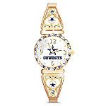 My Dallas Cowboys NFL Women's Stretch Watch