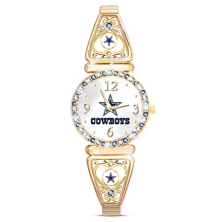 My Dallas Cowboys NFL Women's Stretch Watch