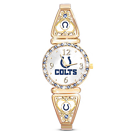 My NFL Indianapolis Colts Women's Stretch Watch