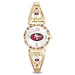 My San Francisco 49ers NFL Women's Stretch Watch