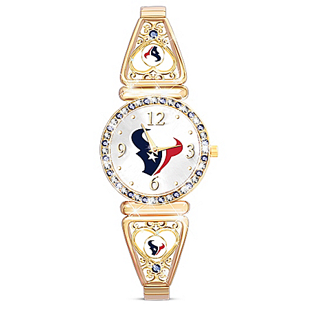 My NFL Houston Texans Women's Stretch Watch