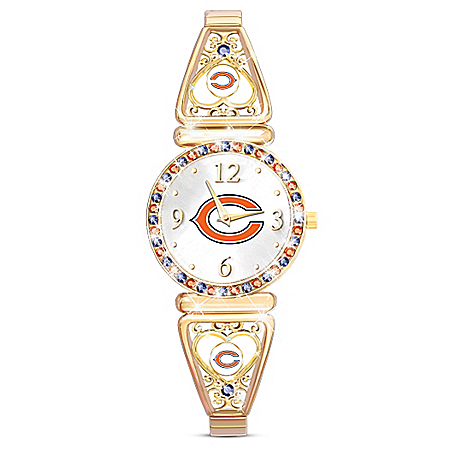 My NFL Chicago Bears Women's Stretch Watch