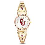 My University Of Oklahoma Sooners Women's Stretch Watch
