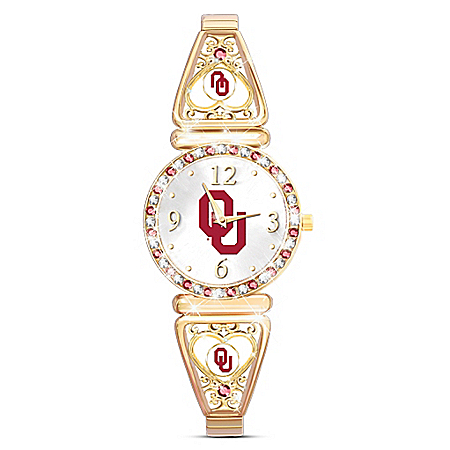 My University Of Oklahoma Sooners Women's Stretch Watch