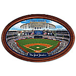 New York Yankees Personalized Stadium Wall Decor Oval Plate