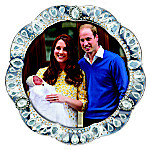 Her Royal Highness The Princess Of Cambridge Commemorative Collector Plate