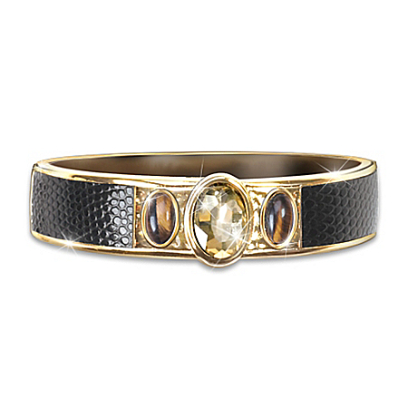 Women's Cavern Hinged Bangle Bracelet