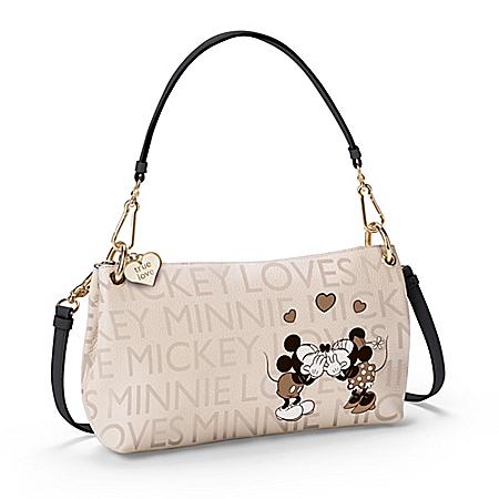 Disney Together Forever Mickey Loves Minnie Handbag