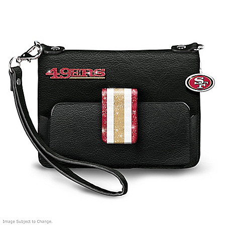 NFL-Licensed San Francisco 49ers Bay City Chic Mini Handbag