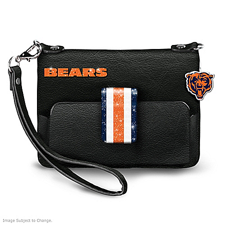 NFL-Licensed Chicago Bears Windy City Chic Mini Handbag