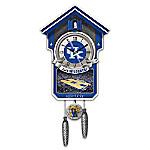 University Of Kentucky Wildcats College Basketball Cuckoo Clock