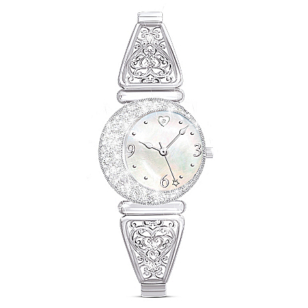 I Love You To The Moon And Back Women's Watch For Granddaughter